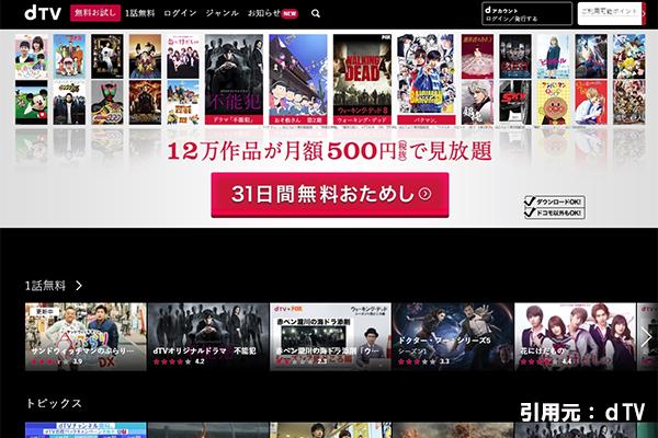 プリズンブレイク動画見放題dTV